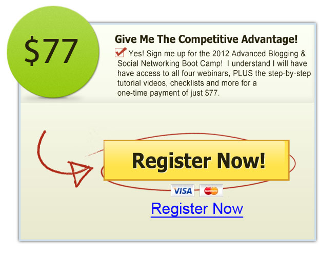 2012 Advanced Blogging and Social Networking Boot Camp