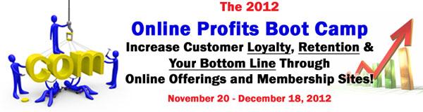 2012 Online Profits Boot Camp
