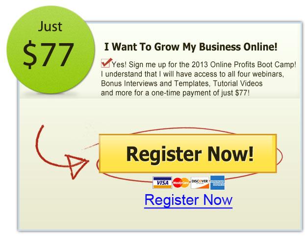 2013 Online Profits Boot Camp