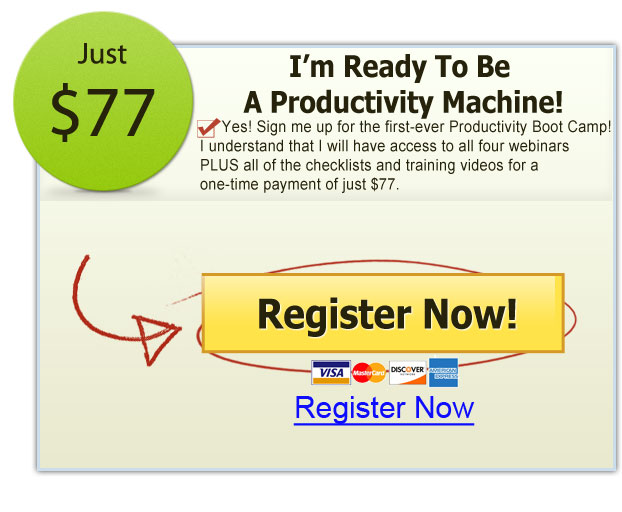 2013 Productivity Boot Camp