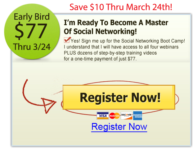 2015 Social Networking Boot Camp, Part 1