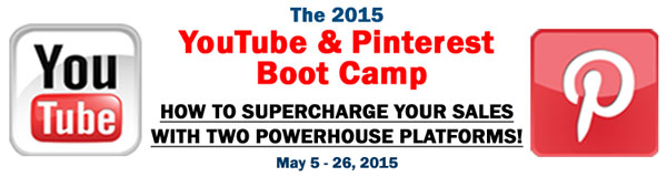 2015 YouTube and Pinterest Boot Camp