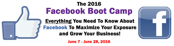 2016 Facebook Boot Camp
