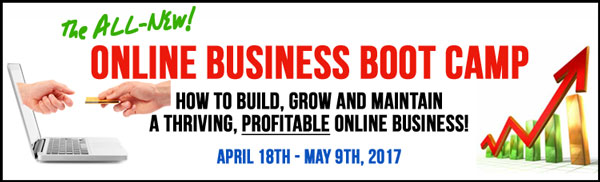 2017 Online Business Boot Camp